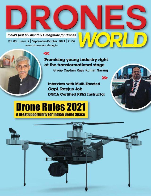DRONES WORLD - September - October 2021